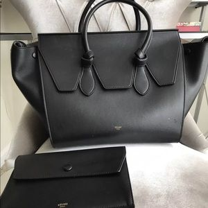 Celine tie knot large tote excellent find